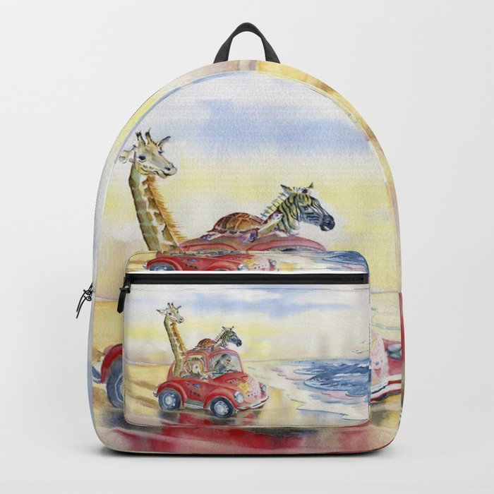 Go To The Beach Backpack