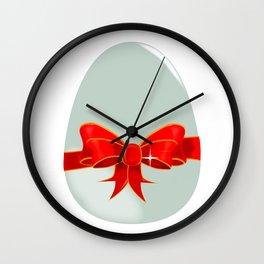 Chocolate Egg Wall Clock