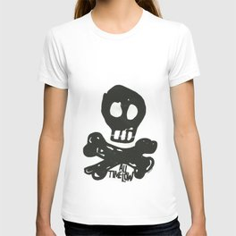 All Time Low Skull and Cross Bones T-shirt