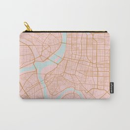 Taipei map, Taiwan Carry-All Pouch