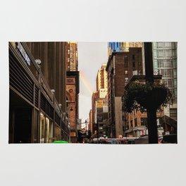 33rd Street with Rainbow Rug