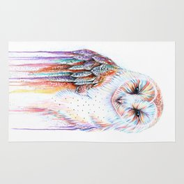 Colorful Owl Rug