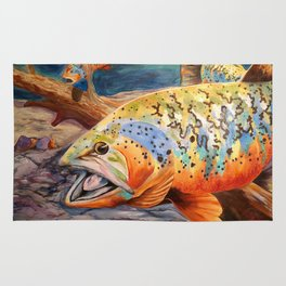 Tiger Trout Rug