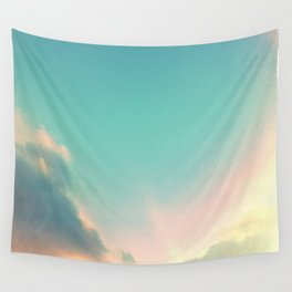 subtle sunset Wall Tapestry