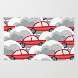 Papercut Cars Rug