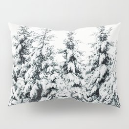 Snow Porn Pillow Sham