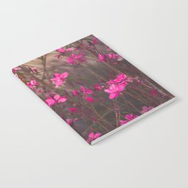 A Fairy Song - Botanical Photography #Society6 Notebook