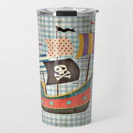 Vintage Pirates Travel Mug