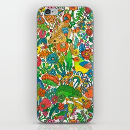 Tiny world iPhone Skin
