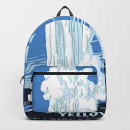 Yellowstone National Park Vintage Backpack