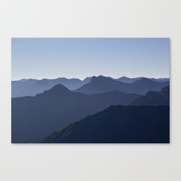 Blue Horizon Canvas Print