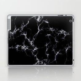 Elegant Marble style4 - Black and White Laptop & iPad Skin
