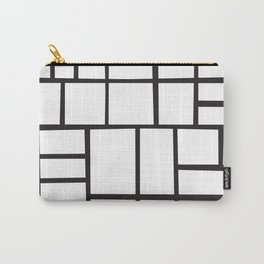 Mondrian Variation 4 Carry-All Pouch