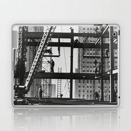 Steel workers New York City Laptop & iPad Skin