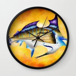 Marlinissos V1 - violinfish Wall Clock