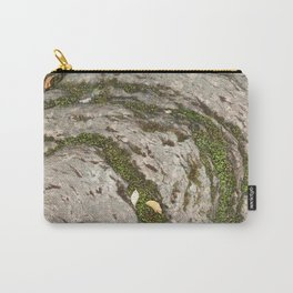 Mossy Stone Curves Carry-All Pouch