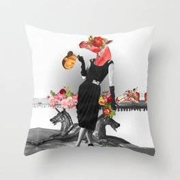 Shade that Suit Throw Pillow