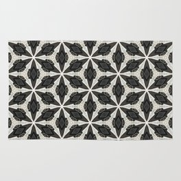 Openwork Abstract Pattern Rug