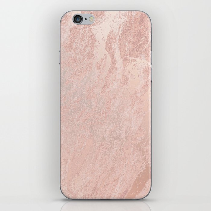 Rose Gold Foil iPhone Skin