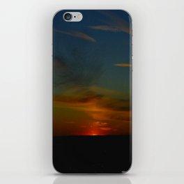Prairie Sunset #1 (Chicago Sunrise/Sunset Collection) iPhone Skin