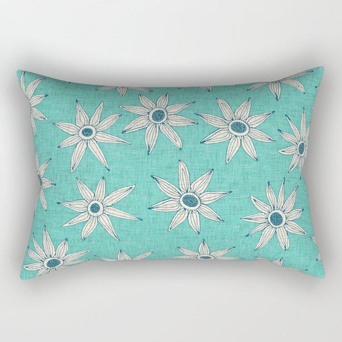 sema mint blue Rectangular Pillow