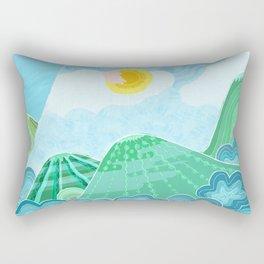 Chubby girl's dream Rectangular Pillow