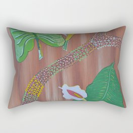 """Arum"" by ICA PAVON Rectangular Pillow"