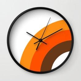 Harvest Rainbow - Left Side Wall Clock