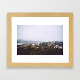 Austin Landscape I Framed Art Print