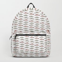 Pattern: Inshore Slam ~ Redfish, Snook, Trout by Amber Marine ~ (Copyright 2013) Backpack