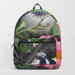 Sparrow in the Vine Backpack