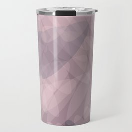 Blush Purple and Blue III Travel Mug