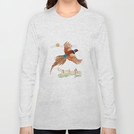male pheasant Long Sleeve T-shirt