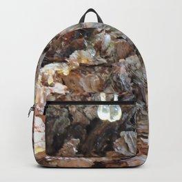 TEXTURES: Weeping Big Cone Pine Bark Backpack