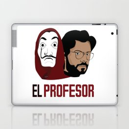 LA CASA DE PAPEL tee shirt El Peofesor Laptop & iPad Skin