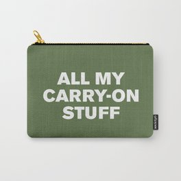 All My Carry-On Stuff™ (Kale) Carry-All Pouch