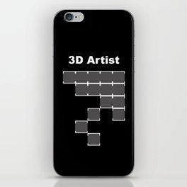 3D Artist iPhone Skin