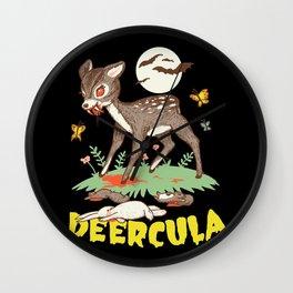 Deercula Wall Clock