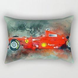 F1 Sports Car Rectangular Pillow