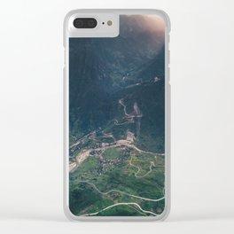 Mountainous town, Sa Pa, Vietnam Clear iPhone Case