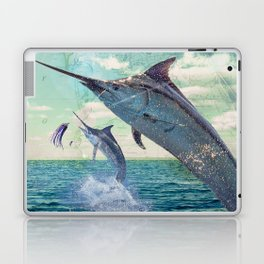 Catch a Marlin if You Can Laptop & iPad Skin