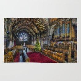 Christmas Church Service Rug