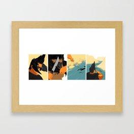 Haircut Framed Art Print