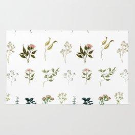 Delicate Floral Pieces Rug