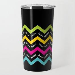 Austin Chevron II Travel Mug