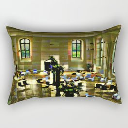 Place of exhibition Rectangular Pillow