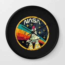 nasa logo Wall Clock
