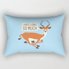 Prey Tell Rectangular Pillow