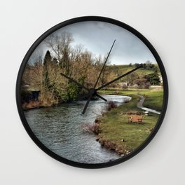 River Wye at Bakewell Wall Clock
