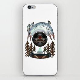 Fleeting Full Moon iPhone Skin